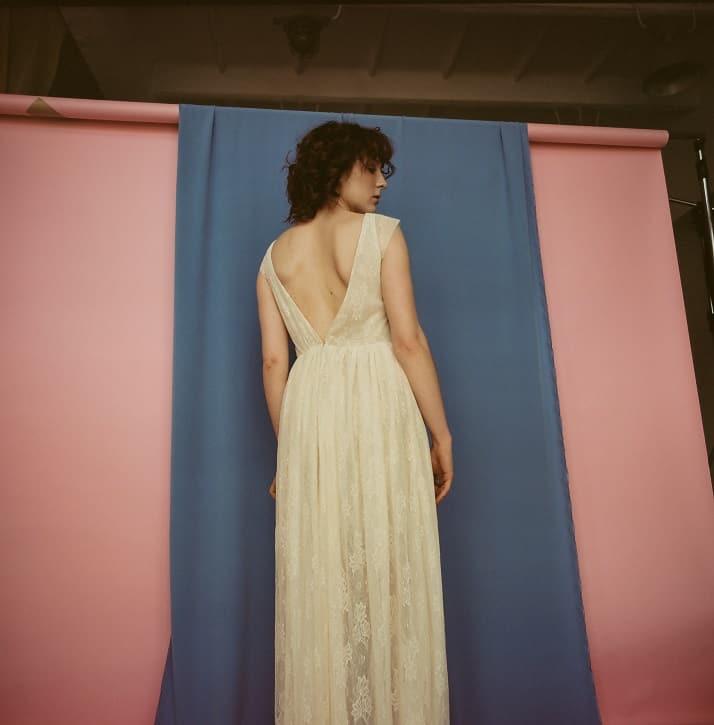 suknia ślubna plecy v